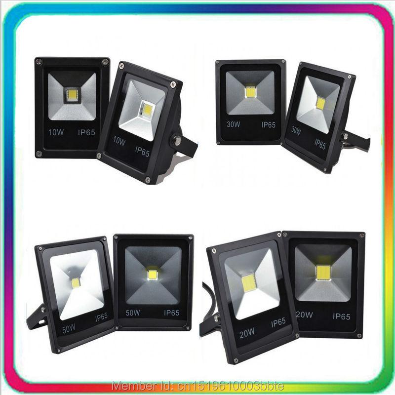 10PCS Garanție 3 ani Epistar Chip 10W 20W 30W 50W Floodlight cu LED-uri Lumină de inundații cu LED-uri în aer liber Tunel de iluminat reflectorizant exterior