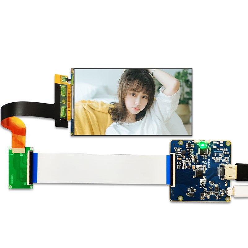 5,5 дюйма 2k ЖК-панель для DLP/SLA 3D-принтера, модель, экран 1268/, MIPI в HDMI привод, детали платы, KLD-1260
