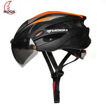 2019 полноформованный велосипедный шлем для гонок, ультралегкий велосипедный шлем для мужчин и женщин, велосипедный шлем с магнитными очками