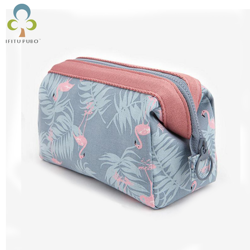 Cosmetic-Bag Toiletry-Kits Portable Waterproof Flamingo Necessaire WYQ Travel Women New-Arrive