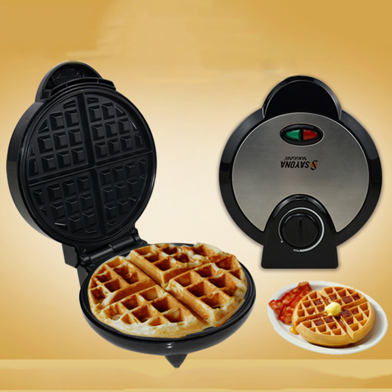Electric Waffle Machine Sandwich Maker Waffle Toaster Electric Cookie Maker Pancake Cake Makers Egg Waffle Makinesi цена