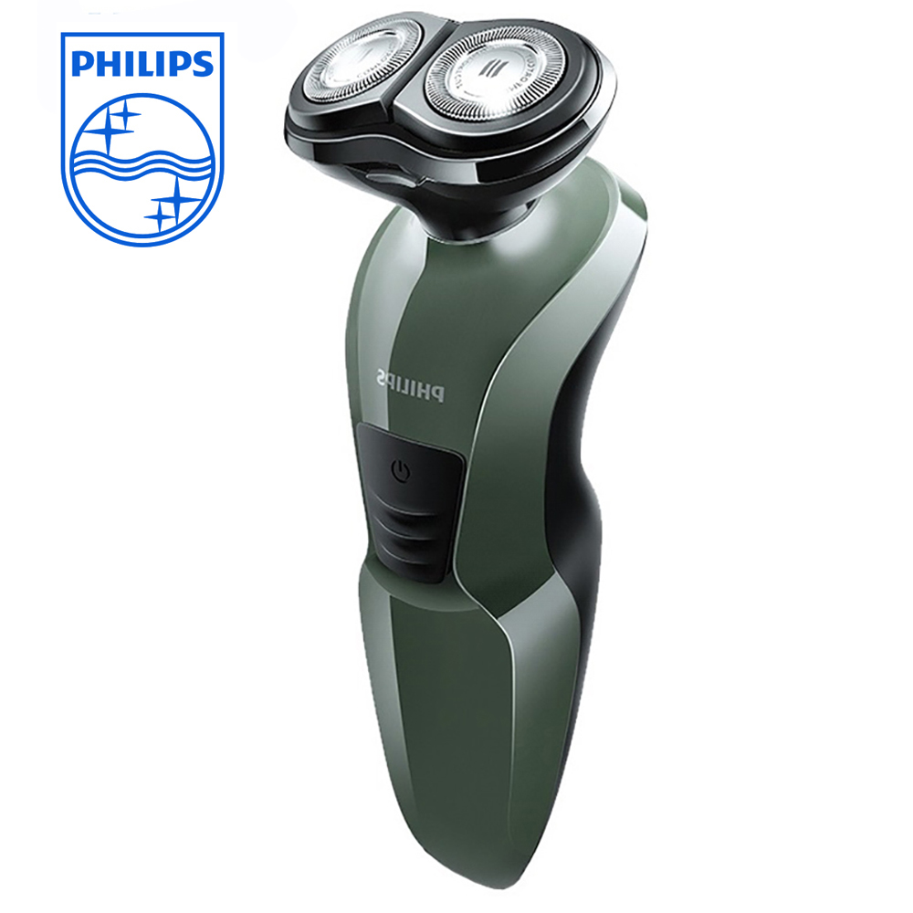 Philips shaver YQ308 2D men's razor non-slip handle rechargeable electric shaver for whole body wash support wet and philips electric shaver s330 rotary rechargeable and body wash design for men s flexible veneer system with retail package