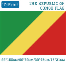 The Republic of Congo National Flag 90*150cm 60*90cm 15*21cm 30*45cm Car For World Cup / Day Event Office