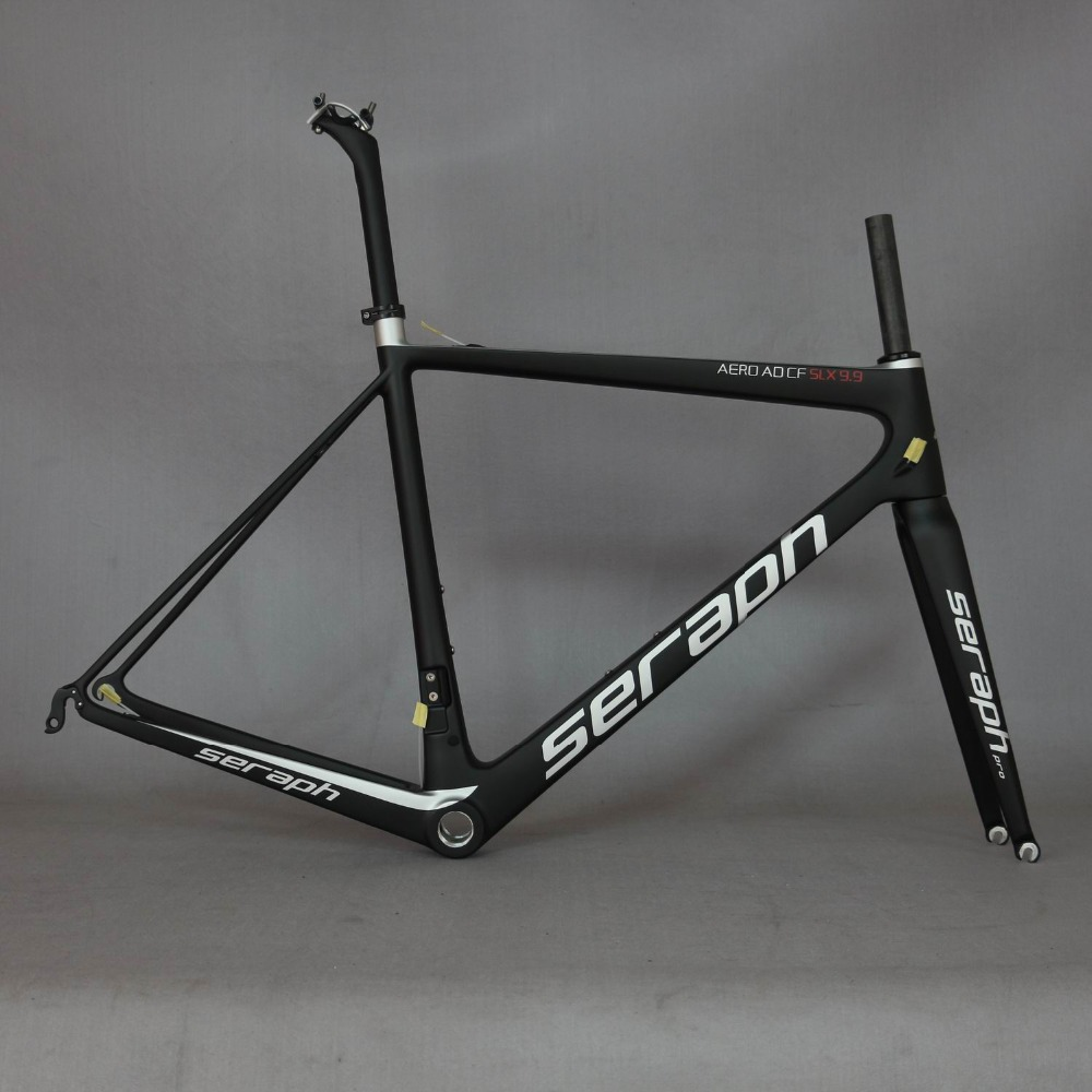 Seraph Bike Carbon Road Frame FM686 Bicycle Frame China Carbon Frame No Tax Fee