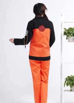 Hot Anime Naruto Cosplay Costumes Shippuden Uzumaki Naruto 2nd Outfit Uniforms Set with Cloaks Props Halloween Party Clothes 1