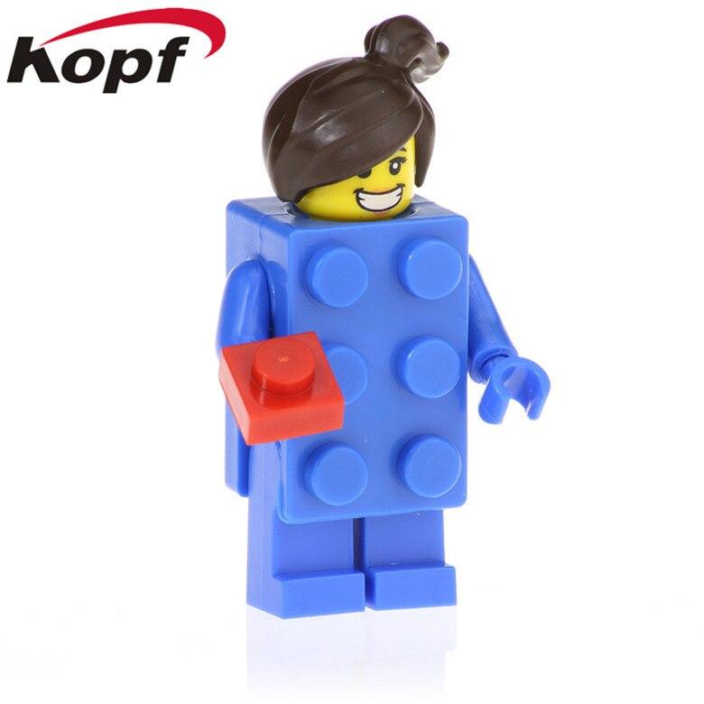 Latest Collection Of 20pcs Education Cartoon Brick Suit Girl Action Balloon Boy Model Racing Man Bricks Buliding Blocks For Children Toys Gift Pg1243 Model Building Toys & Hobbies