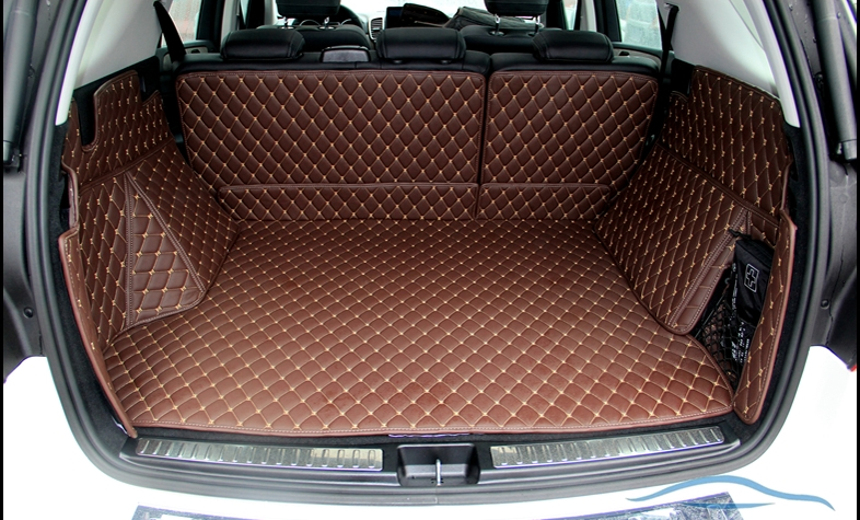 Good! Special trunk mats for Mercedes Benz <font><b>ML</b></font> <font><b>350</b></font> <font><b>W164</b></font> 2011-2006 durable carpets cargo liner mats for ML350 2009,Free shipping image