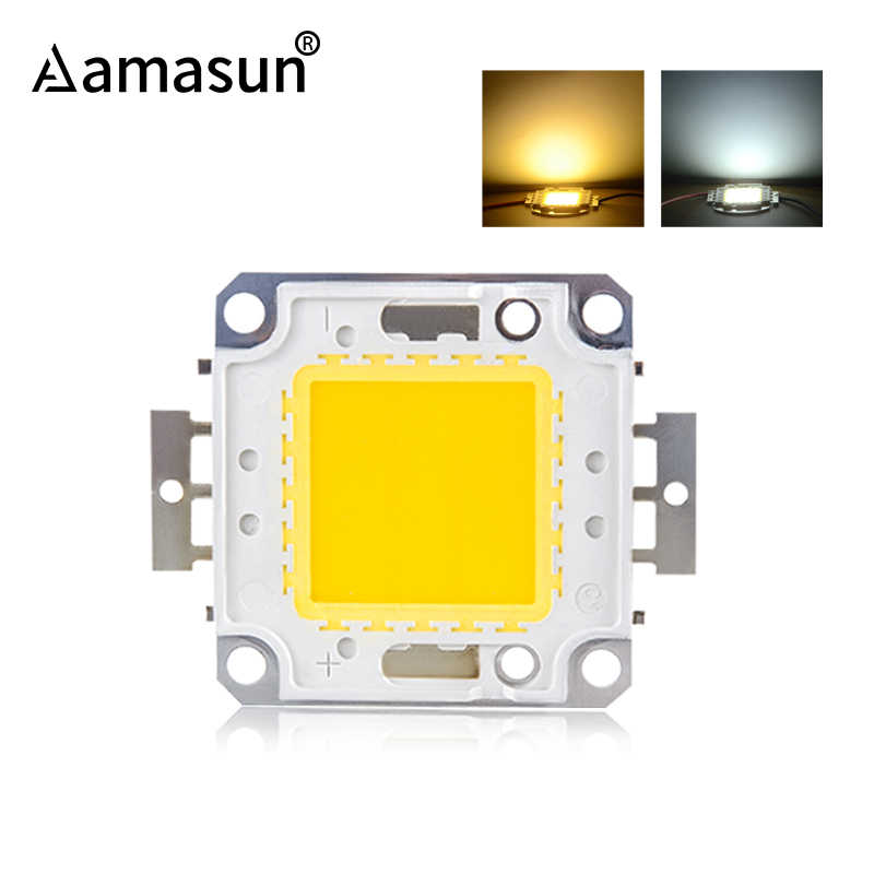 High Brightness LED COB Chip LED Bulb DC 12V 10W 36V 20W 30W 50W 100W DIY Spotlight Floodlight Chip Warm White Cold White