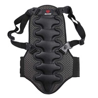 Winter Outdoor Ski Sports Removable Back Support Protection Back Piece Protector Body Spine Armor Vest
