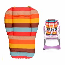 Baby Stroller Accessories Thick Colorful Baby Infant Car Seat Pushchair Cushion Cotton Cover Mat Lovely Cute Design Baby Seat