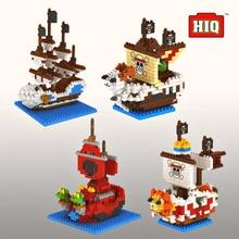 Micro буровые блоки One Piece мелкие частицы блок игрушка мини-игрушка кирпич Corsair серии собраны блоки