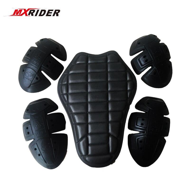 MXRIDER Body Armor Moto Racing Retour Protecteur backpiece à l'intérieur avec Épaules Coudes Protecteur Passé Le CE