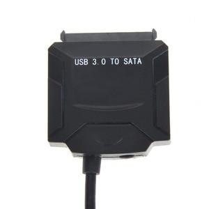 "USB 3,0 на SATA адаптер кабель для 2,5 ""3,5"" HDD SSD жесткий диск ноутбука жесткий диск Blu-Ray DVD/CD-ROM/DVD-ROM EU/UK/US адаптер"