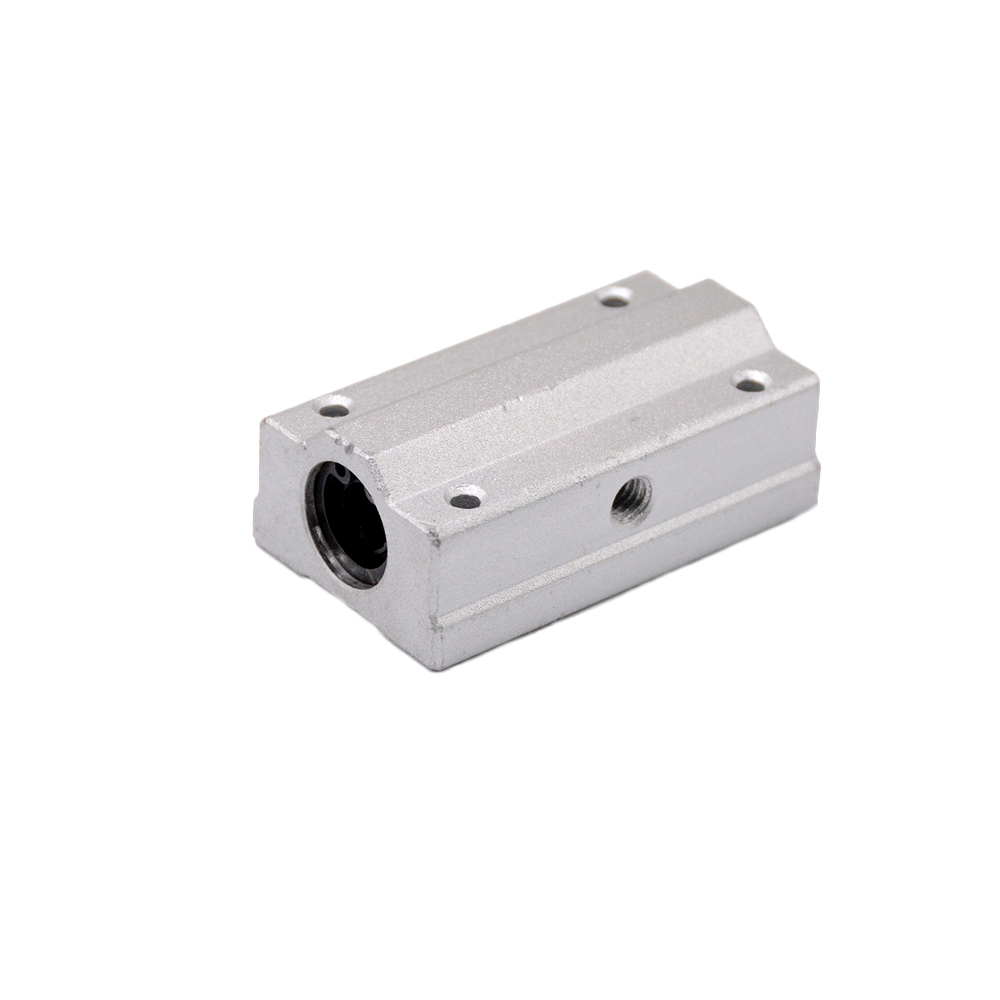 1pc SC8LUU SCS8LUU 8mm long type Linear Ball Bearing Block CNC Router with LM8LUU Bush Pillow Block Linear Shaft CNC 3D printer 4pcs lot free shipping lm8luu long type 8mm linear ball bearing cnc parts for 3d printer for 8mm linear shaft