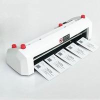 Mejor Cortadora de tarjetas de visita eléctrica tamaño A4 SK316 90 54mm tamaño de la tarjeta SK316