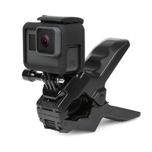 Image 5 - SHOOT 24cm Gooseneck Adjustment Jaws Flexible Clamp Mount for GoPro Hero 9 8 7 5 Session SJCAM SJ Xiaomi Yi 4K 4K+ Camera Tripod