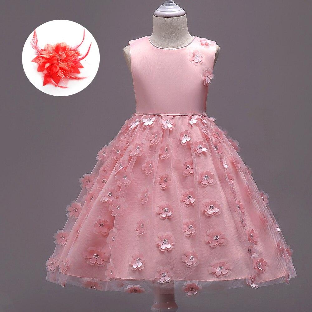 Kids Cute Clothes Cheap Dress Up Girls Children Gorgeous Wedding ...