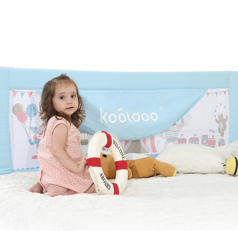 100% cotton baby bed rails baby bed safety bumper export 120cm 150cm baby bed rails 180cm 200cm carton picture