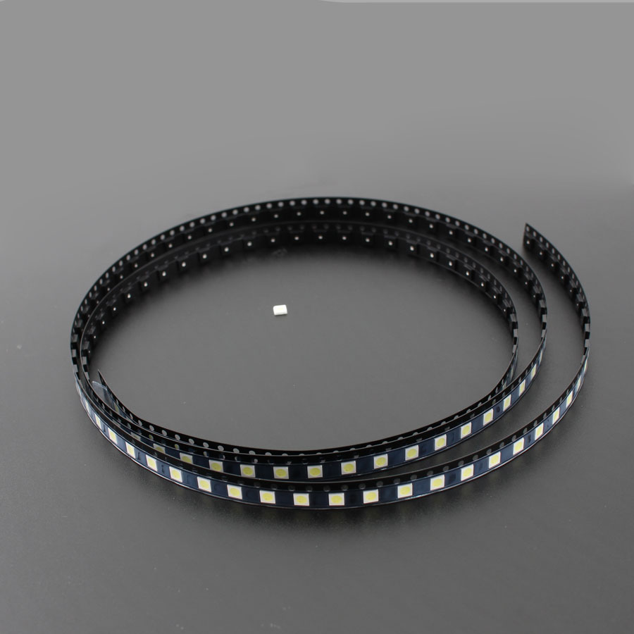 50pcs/set 3535 2W 6V <font><b>SMD</b></font> <font><b>LED</b></font> Backlight TV <font><b>SMD</b></font> lamp Diodes Cool White LCD TV Backlight light-emitting diode repair <font><b>LED</b></font> lights image
