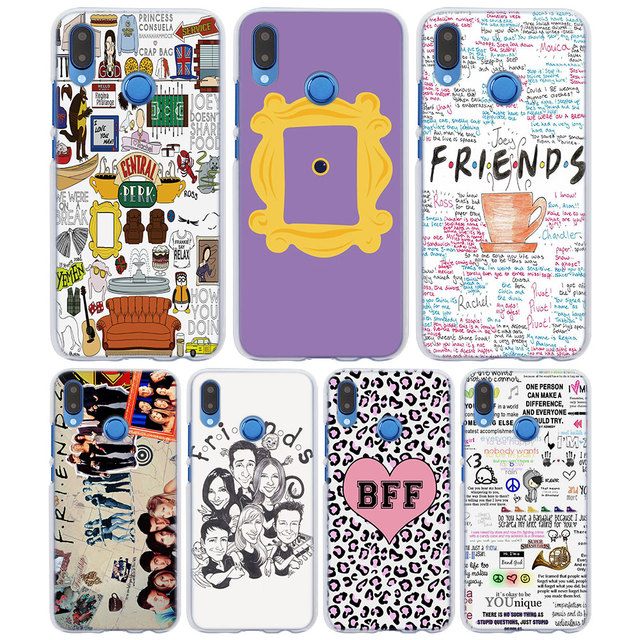 best service ed440 08f44 US $1.97 34% OFF FRIENDS FUNNY TV SHOW LOGO Best Friends Forever Style  clear frame back Cover Case for Huawei P20 P Smart P10 lite P8 P9 lite-in  ...