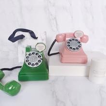 Case Coins Piggy-Bank Money-Saving-Box Creative Cartoon Telephone-Shaped Plastic Retro