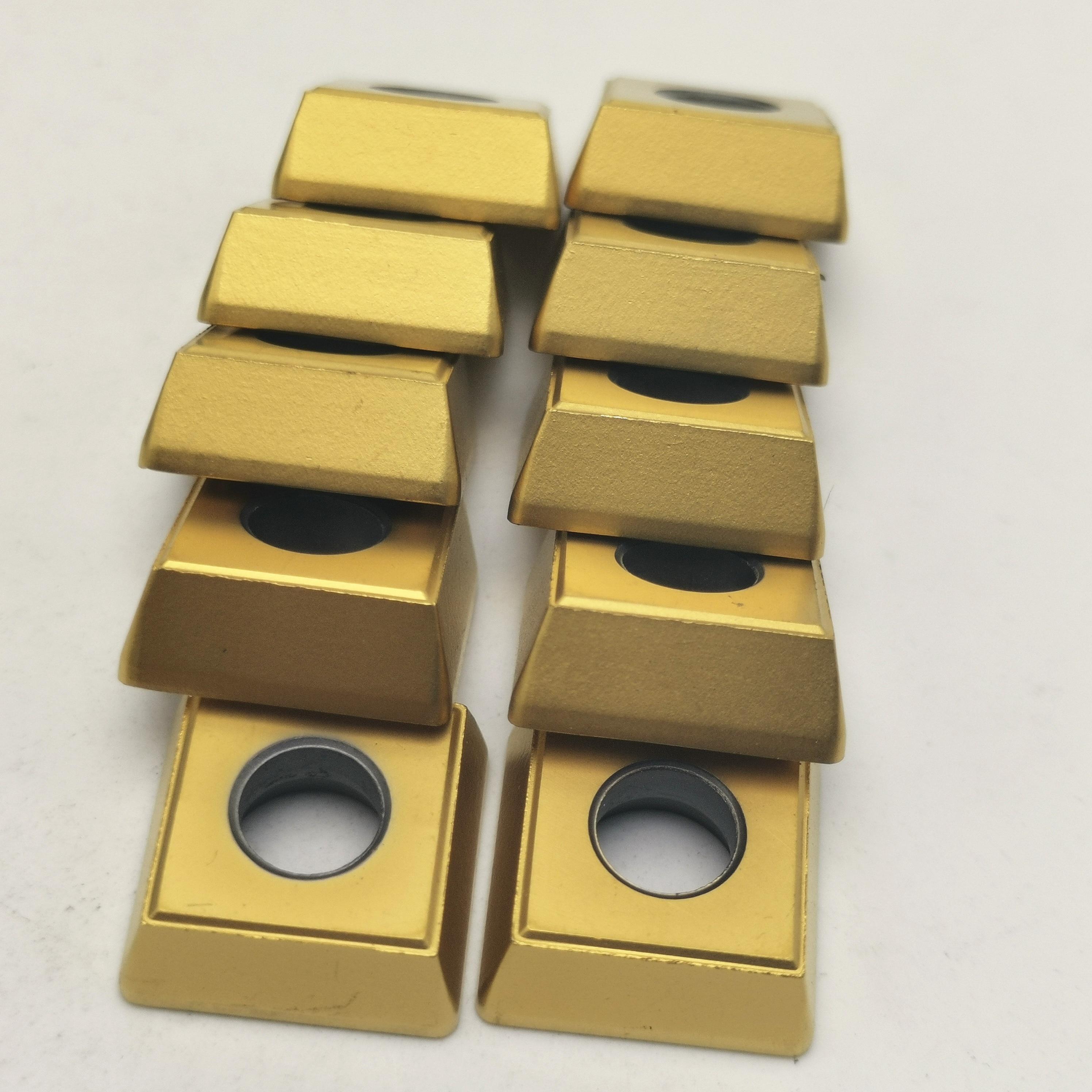 100PCS SPMG140512 DG TT8020 Carbide Insert Turning Tool Milling Cutter CNC Cutting Slot end milling cutter