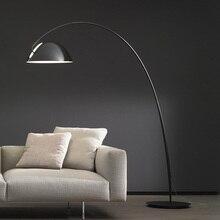 Nordic creative fashion ink pen hardware floor lamp bedroom living room sofa villa club floor lamp for bedroom livingroom led
