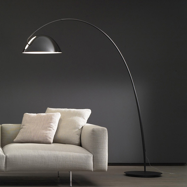 Nordic creative fashion ink pen hardware floor lamp bedroom living room sofa villa club floor lamp for bedroom livingroom led