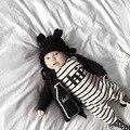 2017 novos Macacão de Bebê de Algodão Recém-nascidos roupas Roupas de manga Longa Meninas Do Bebê Menino terno do bebê Macacão Roupas Romper infantil