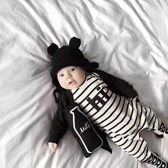 fc9c8f148 2019 nuevos mamelucos de bebé de algodón ropa de recién nacido de manga  larga bebé Niñas Ropa de niño traje de bebé mono mameluco ropa infantil en  Monos de ...