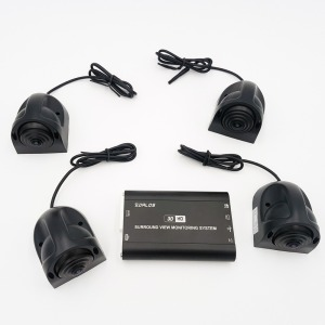 Image 2 - Bird View camera System for RV  / motorhome  / Camper   HD 3D 360 Surround View System  1080P DVR G Sensor