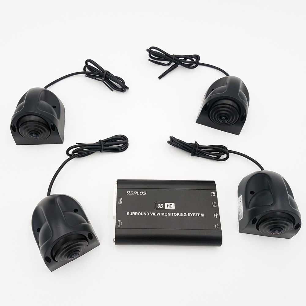 Система наблюдения за птицами для RV P/motorhome/Camper HD 3D 1080 Surround View system 360 p DVR g-сенсор