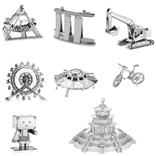 Building Star Wars 3D Metallic Assembling Model Puzzle 24 Models All Free Shipping Decorations Collection Children's Gift Metal