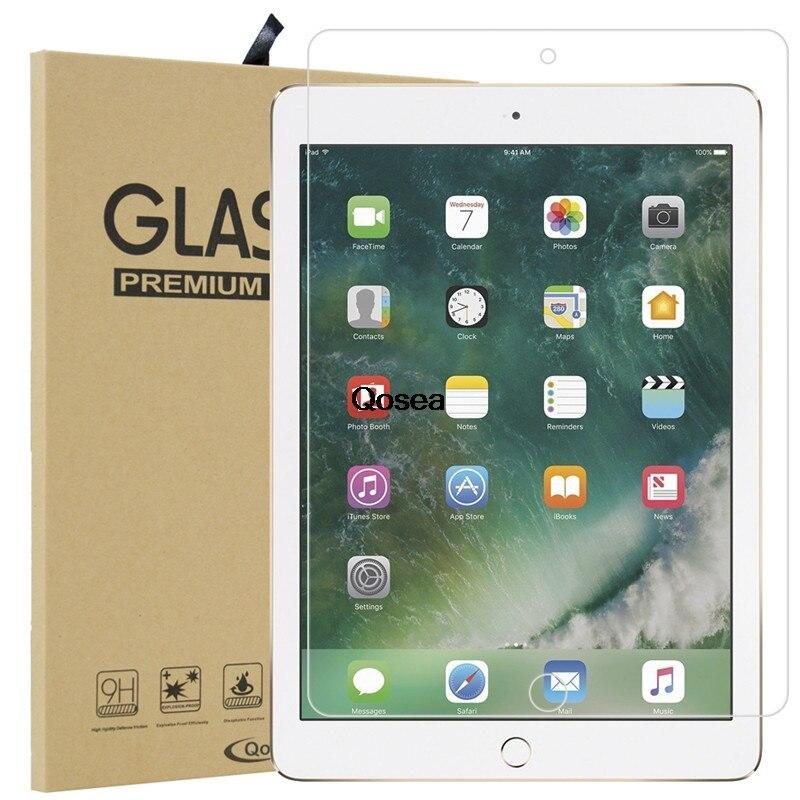 """imágenes para Qosea Para iPad de Apple Pro 10.5 """"Vidrio templado 9 H 2.5D Arco Transparente Resistente A Los Arañazos Para el ipad de Apple Pro 10.5"""" Protector de pantalla de Cine"""