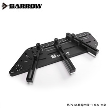 Barrow multi-angle Acrylic PMMA /PETG Rigid hard tube bending mould computer water cooling ABQYG-16A V2 Black barrow hard tube bending tool abs steel plate support hard tubing 12 14 16mm abqyg 16a