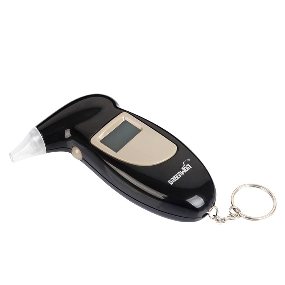 2019 greenwon pft-68sDigital pantalla LCD retroiluminada alcoholímetro 68s alerta alcoholímetro caja analizador Dispositivo de estacionamiento