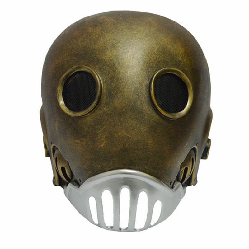 Hellboy Anu n rama Kroenen Cosplay 1:1 (LIFE SIZE) Mask Resin Action Figure Collectible Model Toy D328 hellboy mask breathable full face mask kroenen helmet halloween cosplay horror helmet karl ruprecht kroenen halloween props w153