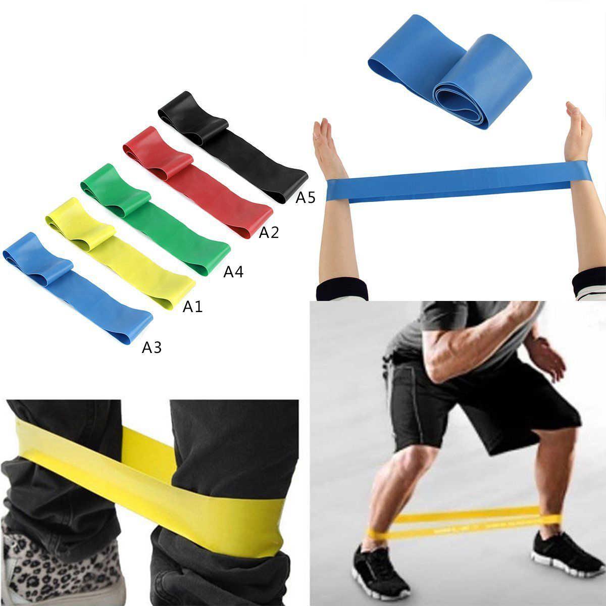 Pasek do jogi Fitness elastyczne taśmy oporowe do ćwiczeń pilates taśma treningowa Body Stretching Belt trening crossfit equipment P15