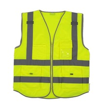 Visibility Reflective Vest Working Cycling Sports Reflective Waistcoats