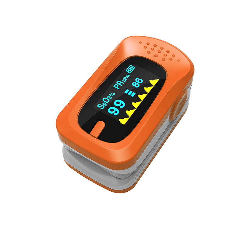 Portable Pulse Oximeter Pouch Setting Alarm Beep Fingertip SPO2 Pulse Rate Oxygen Monitor Medical Finger Pulse Saturation Meter (5)