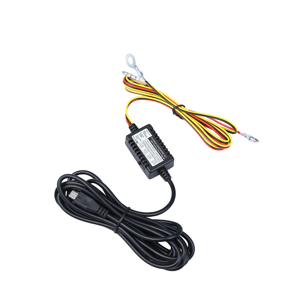 Blueskysea Fuse Tap Micro Usb Hardwire Kit 12v To 5v Power Plug Wiring Harness Adapter Cable For Mini