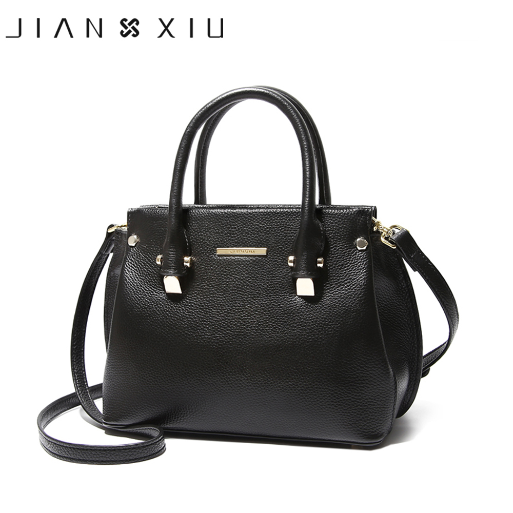 JIANXIU Genuine Leather Handbag Luxury Handbags Women Bags Designer Shoulder Bag Vintage Litchi Pattern Sac a Main Bolsos Mujer jianxiu luxury handbags women bags designer genuine leather handbag bolsa feminina sac a main bolsos 2017 vintage shoulder bag