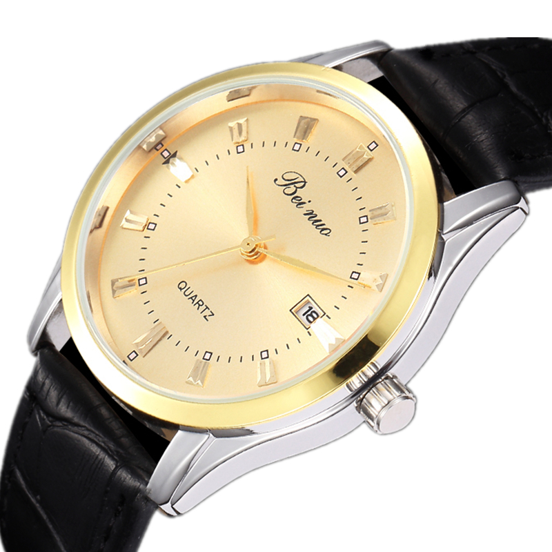 Bei Nuo Top Brand Luxury Men Watches New Arrival 2019 Quartz Men Sports Wristwatch Date Clock Watches Men Business Gift Watch