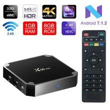 X96 mini Android 7.1.2 TV BOX 2GB andriod tv box Amlogic S905W Quad Core Suppot H.265 UHD 4K WiFi X96mini Set-top box x 96 tvbox