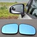 Для Toyota Prius Автомобильное зеркало заднего вида широкий угол Hyperbola Синий Зеркальный светодиодный указатель поворота