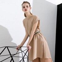 flesh silk dress summer maxi women beach 2018 dresses long plus size boho sexy party casual elegant loose office bandage khaki
