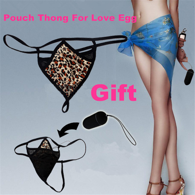 Toysdance Sex Toys For Woman Frosted ABS Wireless Remote Control Vibrating Love Vibe With Pouch Thong Waterproof Vibrator