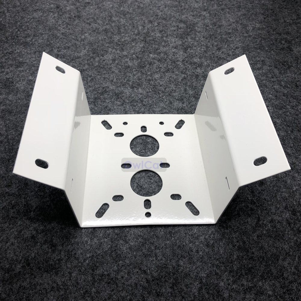 Image 5 - CCTV Monitoring External Wall Angle Bracket Right angle Bracket Hikvision Dahua Dome Camera Corner 90 degree Mounting bracketCCTV Camera Housings   -