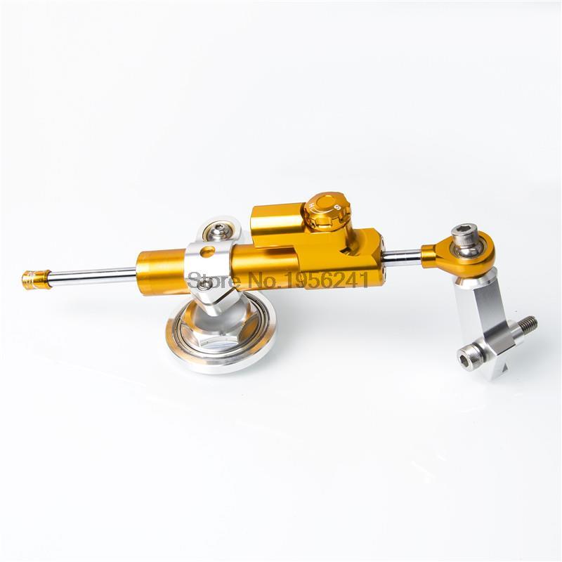 CNC Billet Steering Damper Mounting Kit for Kawasaki Ninja ZX-6R ZX636 2005-2006 meziere wp101b sbc billet elec w p