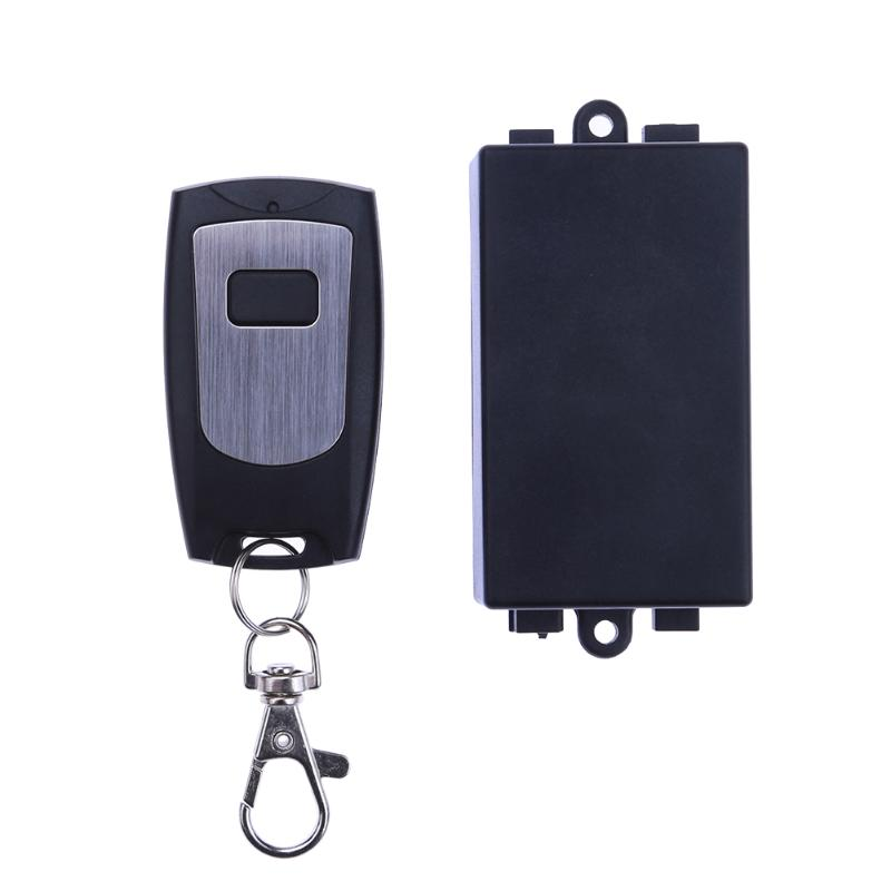 DC 12V Single Channel Wireless Relay Remote Control Switch+ Signal self-locking Remote Controller 315MHZ for doors windows gates dc24v 12v 9v remote control relay 1ch wireless rf remote control switch transmitter with receive for electric gates doors